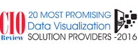 20 Most Promising Data Visualization Solution Providers - 2016
